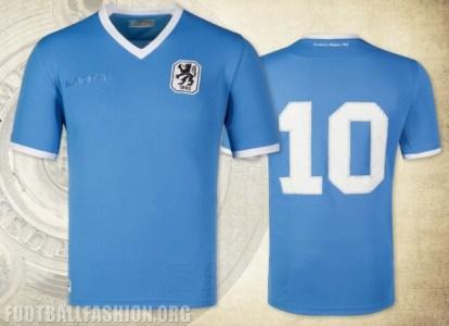 TSV 1860 München Bundesliga Championship 50th Anniversary Football Kit, Soccer Jersey, Shirt, Trikot, Jubiläumstrikot