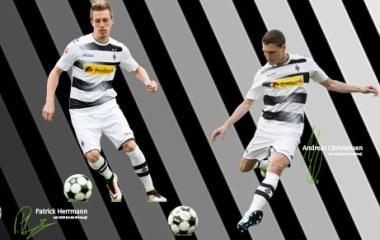Borussia Mönchengladbach 2016 2017 Kappa Home Football Kit, Soccer Jersey, Shirt, Trikot, Heimtrikot