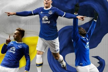 Everton FC 2016 2017 Umbro Home Football Kit, Soccer Jersey, Shirt, Camiseta