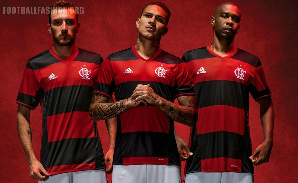 90762b4f4 Flamengo 2016 17 adidas Home Kit - FOOTBALL FASHION.ORG