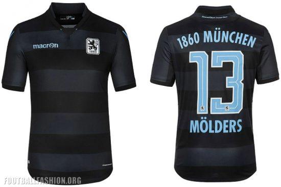 TSV 1860 München 2016 2017 Macron Home and Away Football Kit, Shirt, Soccer Jersey, Trikot