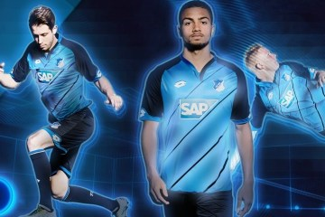 TSG 1899 Hoffenheim 2016 2017 Lotto Home Football Kit, Soccer Jersey, Shirt, Heimtrikot, Trikot