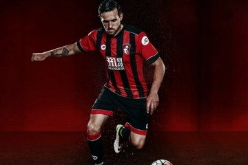 AFC Bournemouth 2016 2017 JD Sports Home Football Kit, Soccer Jersey, Shirt