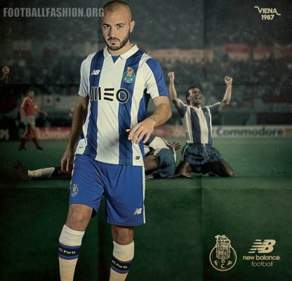 FC Porto 2016 2017 New Balance Home Football Kit, Soccer Jersey, Shirt, Camisa, Camisola