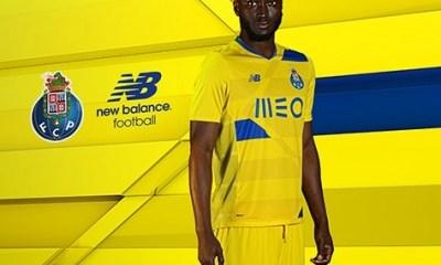 FC Porto 2016 2017 New Balance European Third Football Kit, Soccer Jersey, Shirt, Camisa, Camisola