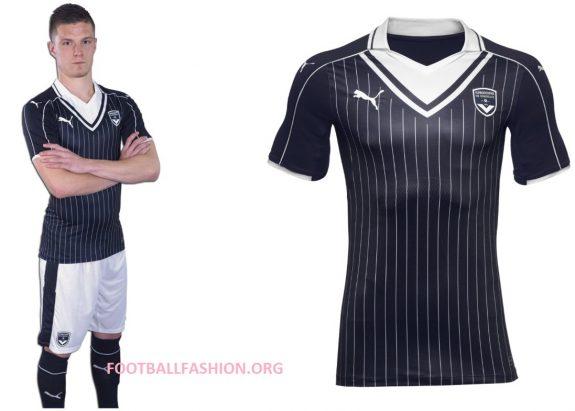 Girondins de Bordeaux 2016 2017 PUMA Home Football Kit, Soccer Jersey, Shirt, Maillot