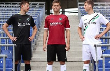 Hannover 96 Jako 2016 2017 Home, Away and Third Football Kit, Shirt, Soccer Jersey, Trikot