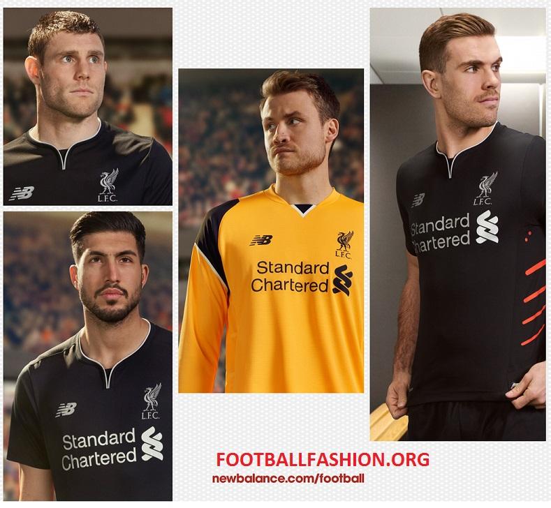 37a26e037 Liverpool FC 2016 17 New Balance Away Kit – FOOTBALL FASHION.ORG