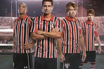 São Paulo FC 2016 2017 Under Armour Away Football Kit, Soccer Jersey, Shirt, Camisa