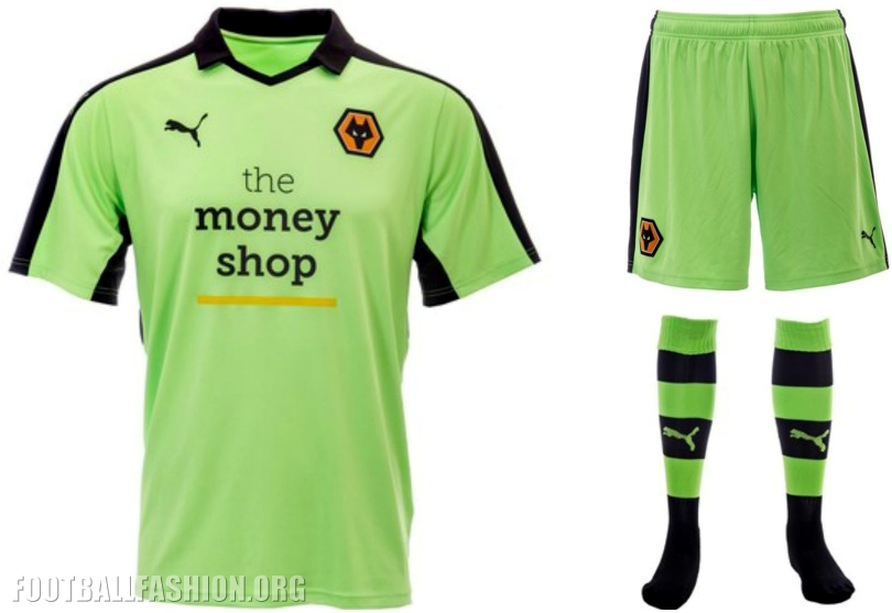 c60e281babb Wolverhampton Wanderers FC 2016 17 PUMA Away Kit - FOOTBALL FASHION.ORG