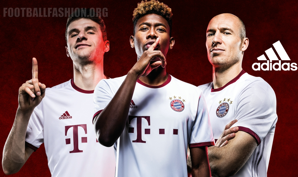 FC Bayern München 2016/17 adidas Champions League Kit – FOOTBALL on inter milan, england national football team, brazil national football team, pep guardiola, borussia dortmund, germany munchen, germany national football team, sevilla fc, a.c. milan, uefa champions league, barca munchen, allianz arena, james rodríguez, argentina national football team, atlético madrid, rb leipzig, fcbayern munchen, paulaner munchen, fc porto, david alaba, fc barcelona,