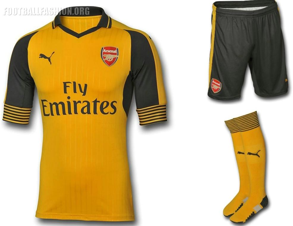 Arsenal Unveil 2016 17 PUMA Away and Third Kits During USA Tour ... be9974085