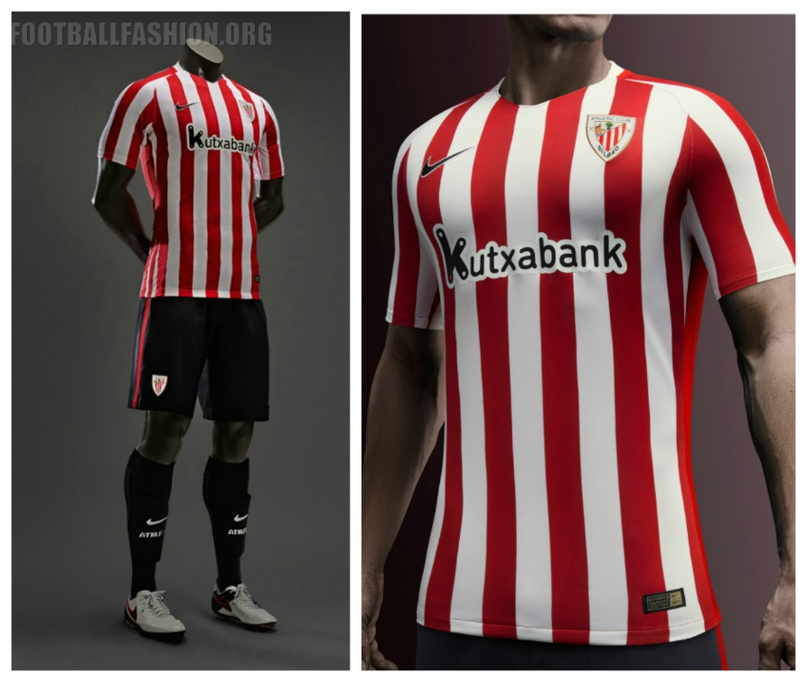 Competencia Belicoso Adolescencia  Athletic Bilbao 2016/17 Nike Home and Away Kits - FOOTBALL FASHION.ORG