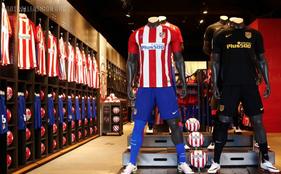 cce39ab3f Atlético de Madrid 2016 2017 Nike Home and Away Football Kit, Soccer Jersey,  Shirt