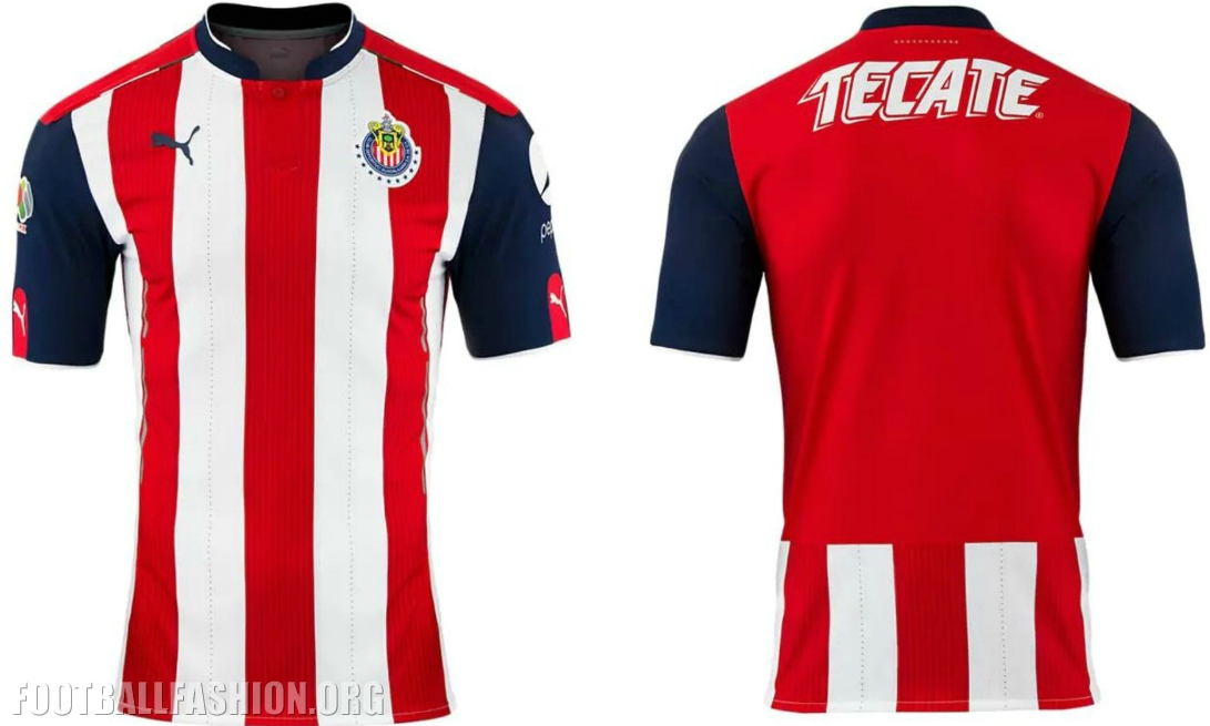 innovative design 6f1a7 fb9a6 Chivas de Guadalajara 2016/17 PUMA Home and Away Jerseys ...
