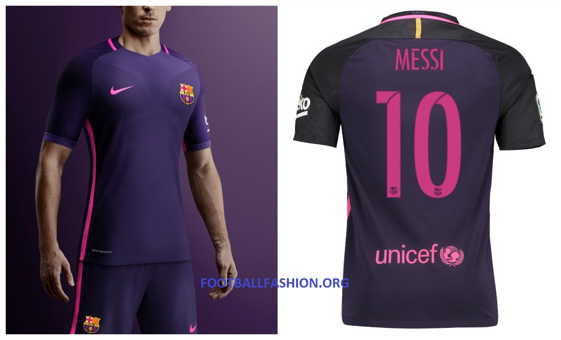 cheap for discount feb33 12316 FC Barcelona 2016/17 Nike Away Kit - FOOTBALL FASHION.ORG