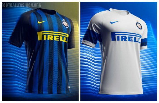 Inter Milan 2016 2017 Nike Home and Away Football Kit, Soccer Jersey, Shirt, Camisa, Camiseta, Gara, Maglia