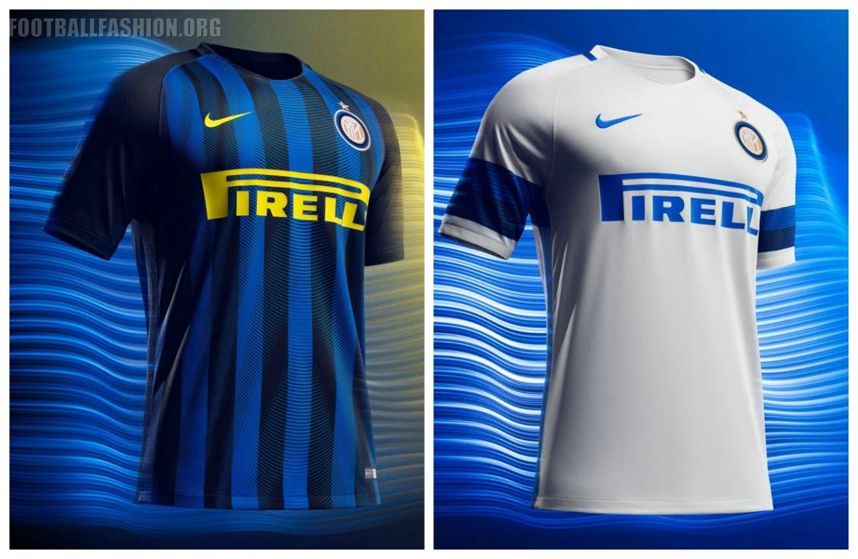 Inter Milan 2016 17 Nike Home and Away Kits – FOOTBALL FASHION.ORG 90eb38f8ba41a