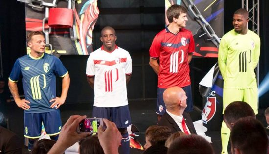 LOSC Lille 2016 2017 New Balance Home, Away and Third Football Kit, Soccer Jersey, Shirt, Maillot