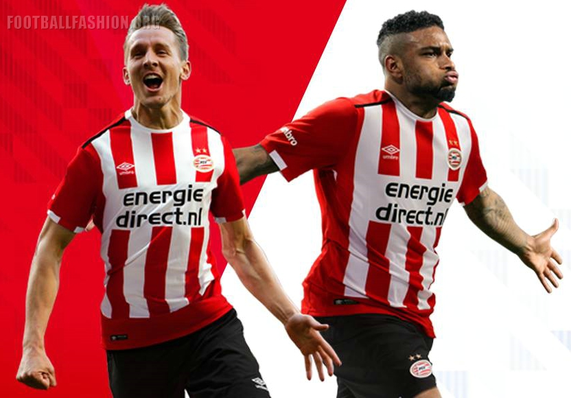 Psv Eindhoven 2016 17 Umbro Home And Away Kits Football