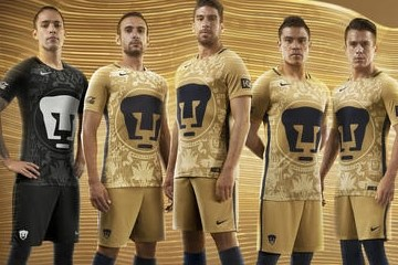 Pumas de la UNAM 2016 2017 Nike Home and Away Soccer Jersey, Football Kit, Shirt, Playera, Camiseta, Equipacion
