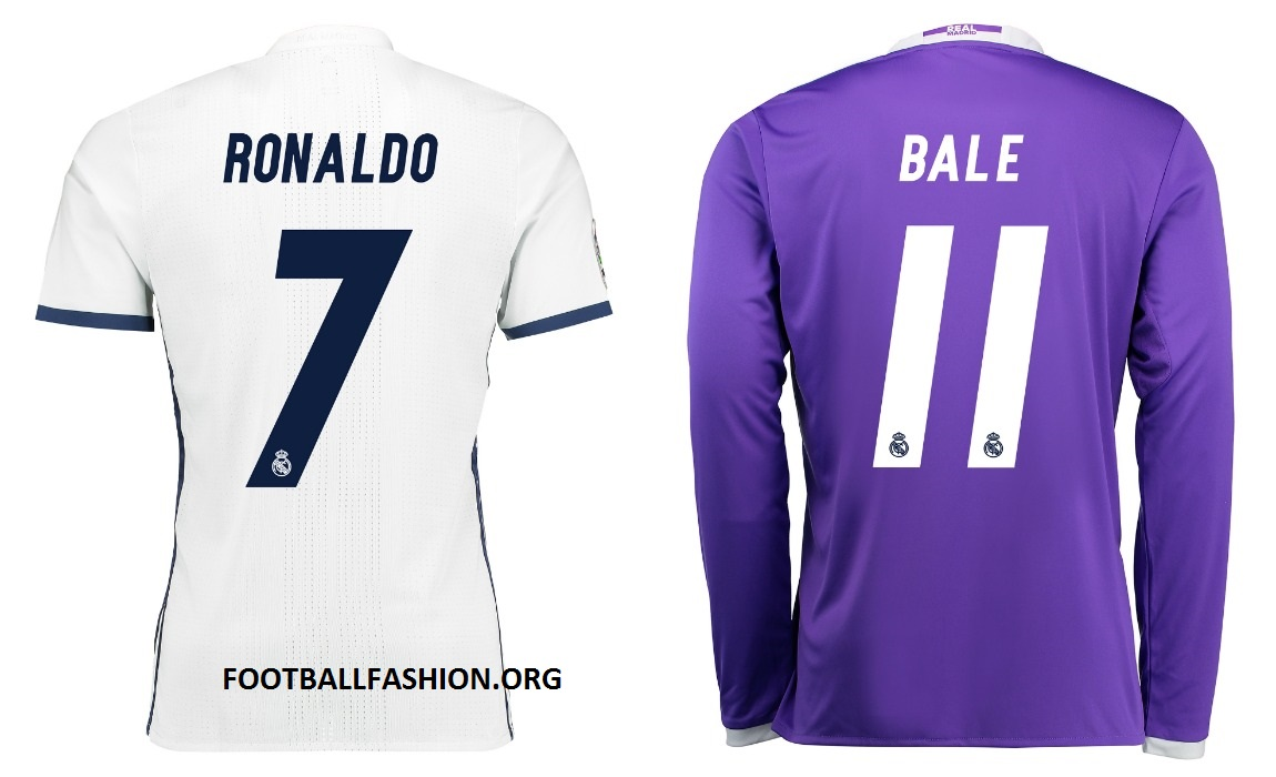 new arrivals b854e 1b701 Real Madrid 2016/17 adidas Home and Away Kits - FOOTBALL ...