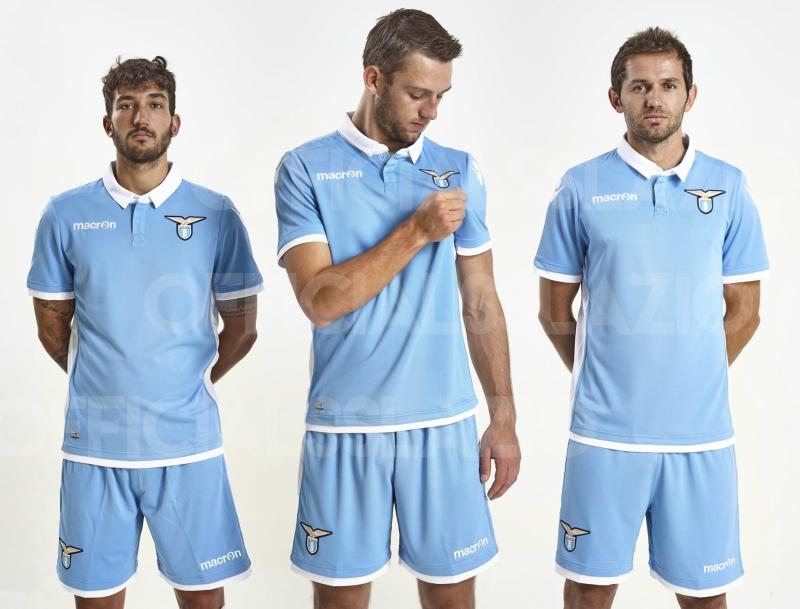 buy online c04ac 2a617 SS Lazio 2016/17 Macron Home Kit - FOOTBALL FASHION.ORG
