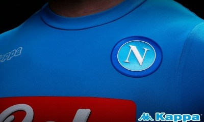 SSC Napoli 2016 2017 Kappa Home Football Kit, Soccer Jersey, Shirt, Gara, Maglia, Camiseta