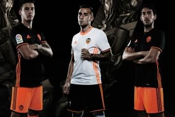 Valencia CF 2016 2017 adidas Home and Away Football Kit, Soccer Jersey, Shirt, Equipacion, Camiseta de Futbol
