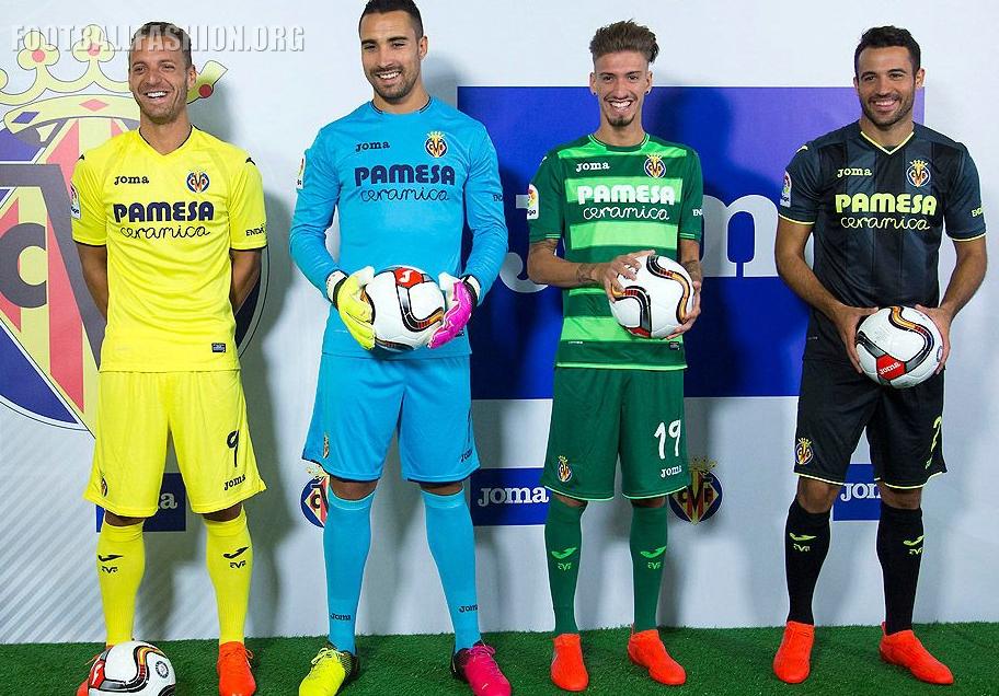 15ae3a5a7 Villarreal CF 2016 2017 Joma Home