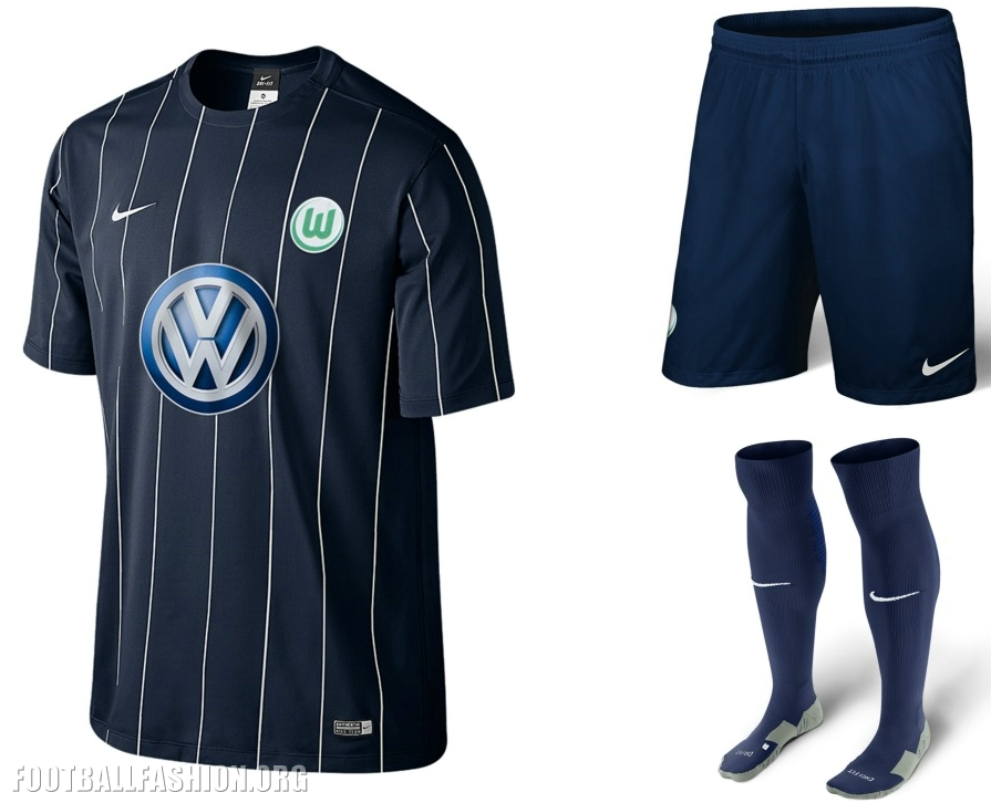 VfL Wolfsburg 2016 2017 Nike Home, Away and Third Football Kit, Soccer  Jersey,