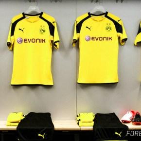 Borussia Dortmund 2016 2017 UEFA Champions League Home Football Kit, Soccer Jersey, Shirt, International Trikot