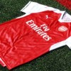 Arsenal Football Club 2016 2017 PUMA Red Home Kit, Shirt, Soccer Jersey, Camiseta, Maillot