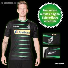 Borussia Mönchengladbach 2016 2017 Kappa Away and Third Football Kit, Soccer Jersey, Shirt, Trikot, Europapokaltrikot , Auswärtstrikot