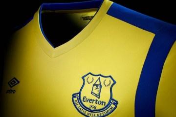 Everton FC 2016 2017 Umbro Third Football Kit, Soccer Jersey, Shirt, Maillot, Camisa, Camiseta de Futbol