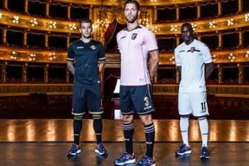 Palermo 2016 2017 Joma Home, Away and Third Football Kit, Soccer Jersey, Shirt, Gara, Maglia, Camiseta