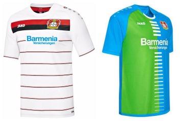 Bayer 04 Leverkusen 2016 2017 Jako Third and Fourth Football Kit, Soccer Jersey, Shirt, Trikot, Ausweichtrikot, Bayer-Edition