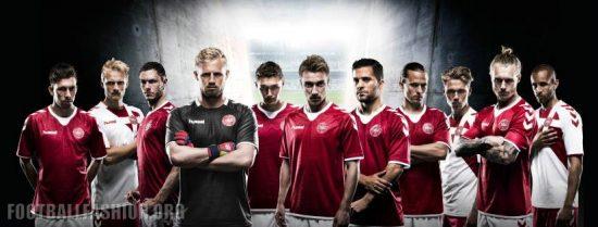 Denmark 2016 2017 hummel Home and Away Football Kit Soccer Jersey, Shirt, Danmark Landsholdstrøje, Trøje