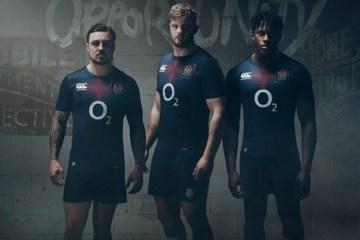 England Rugby 2016 2017 Canterbury Away Football Kit, Soccer Jersey, Shirt