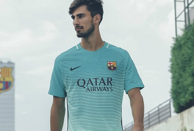 3eca7710a FC Barcelona 2016 17 Nike Third Kit - FOOTBALL FASHION.ORG