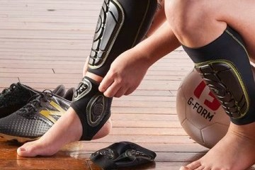 Review: G-Form PRO Soccer Ankle Guards