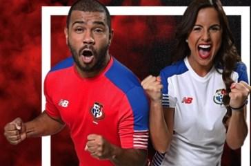 Panama 2018 World Cup Qualifying New Balance Football Kit, Soccer Jersey, Shirt, Camiseta de Futbol 2016 2017