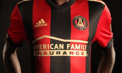 Atlanta United Football Club 2017 adidas Home Soccer Jersey, Shirt, Kit, Camiseta de Futbol, Equipacion