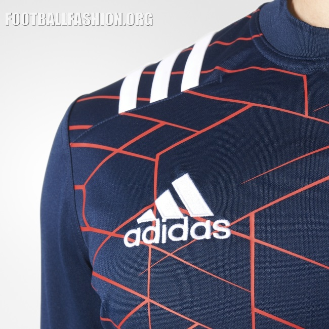 Adidas Rugby Home: France Rugby 2016/17 Adidas Home Kit