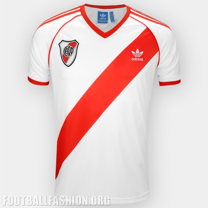 River Plate 1986 adidas Originals Home Soccer Jersey, Shirt, Football Kit,  Camiseta,