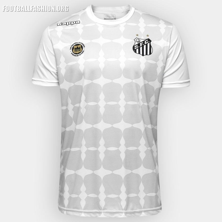 Santos FC 2016 17 Kappa Limited Edition Kit – FOOTBALL FASHION.ORG faf70ed94e622