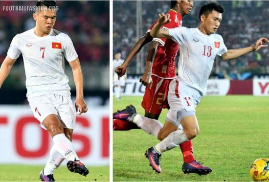 Vietnam 2016 2017 Grand Sport Home and Away Football Kit, Soccer Jersey, 2016 AFF Suzuki Cup Kit