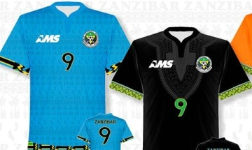 Zanzibar 2016 2017 AMS Home and Away Football Kit, Soccer Jersey, Shirt, Maillot