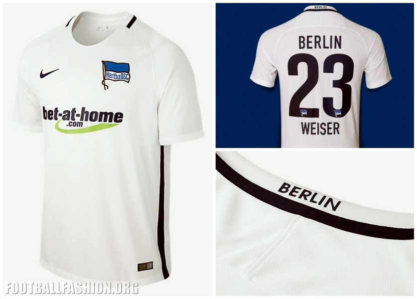 Hertha Berlin 2016 17 Nike Away and Third Jerseys – FOOTBALL FASHION.ORG 5fe89232d