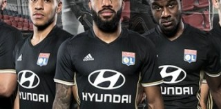 Olympique Lyon 2016/17 adidas Third Kit